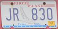 Rhode Island licence plate (1992-present. Optional, extra-cost issue.).JPG