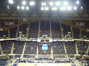 Richmond Coliseum - Interior of arena, 2010