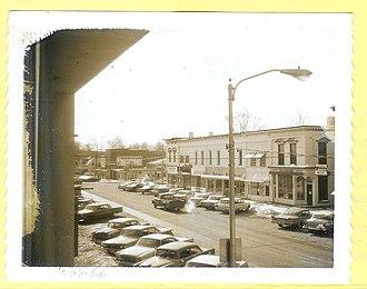 Richwood, Ohio - Image: Richwood, OH, 1966 01 28, west side of N Franklin St (1 of 5)