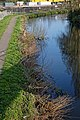 River Stort near previous British Rail Goods Yard, Bishop's Stortford, England 02.jpg