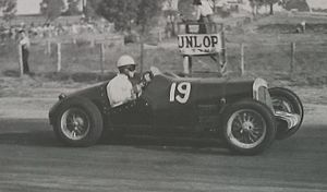 1949 All Powers Long Handicap - Arthur Rizzo won the race driving the Rizzo Riley