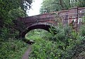 Road bridge over old dismantled railway - geograph.org.uk - 243817.jpg