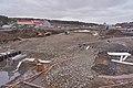 Road construction at E31 by Rudshøgda, Hedmark, Norway.jpg