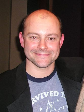 Rob Corddry - Corddry after speaking at Brown University on December 9, 2005