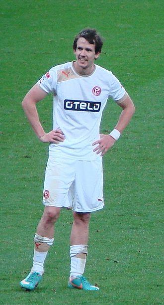 Robbie Kruse - Kruse playing for Fortuna Düsseldorf in 2012.