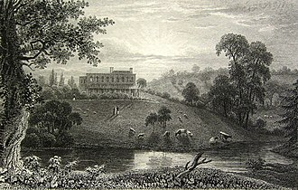 DoubleTree by Hilton Cheltenham - Cheltenham Park Hotel in 1826 before the fire