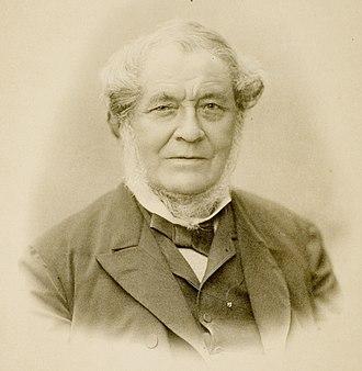 Robert Bunsen - Image: Robert Wilhelm Bunsen (Heid ICON 53016) (cropped)