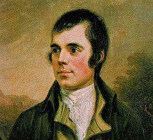 Robert Burns * Source: Image:Robert burns.