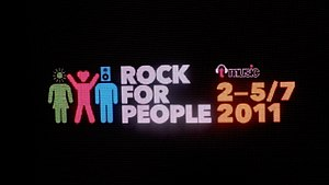 Nové logo Rock for People v roce 2011