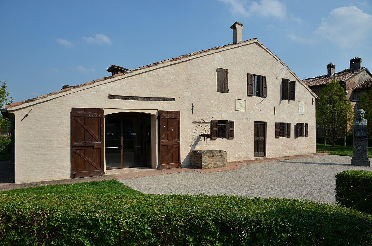 Casa natale di giuseppe verdi wikipedia for 1 5 piani artistici della casa di storia