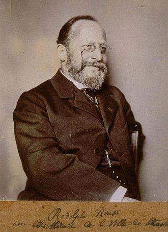 Rodolphe Reuss - Photograph c. 1880
