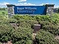 Roger Williams University sign, Bristol, Rhode Island.jpg