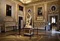 Roma, galleria borghese, sala del sole, col david di bernini 01.jpg