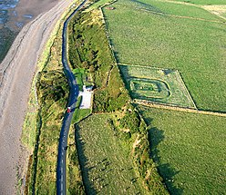 Roman Milefortlet and Saltpans of Crosscanonby, Solway Coast, Cumbria - geograph.org.uk - 53621.jpg