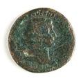 Romerskt bronsmynt, Trajanus - Skoklosters slott - 110653.tif