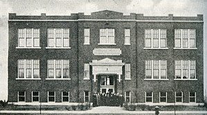 Roseland Christian School - 104th Street Building in 1915