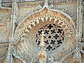 Rosetón de la fachada de la Iglesia conventual de San Pablo (Valladolid).jpg