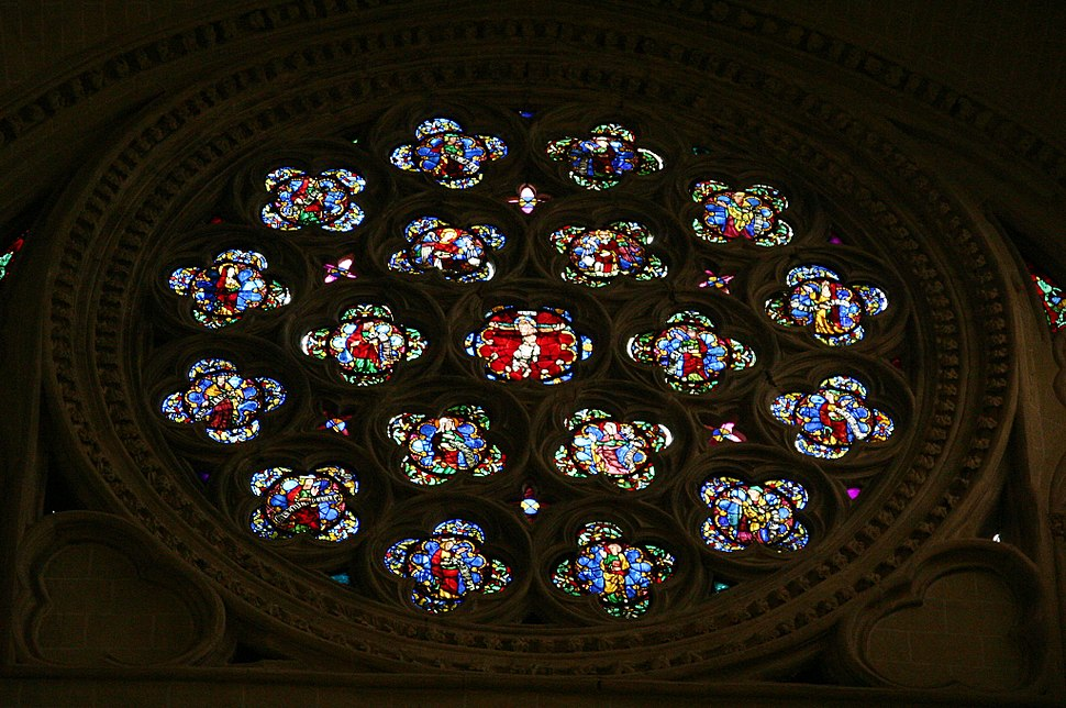Rosette - Cathedral of Toledo (2)
