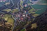 Rothenburg ob der Tauber an einem etwas trüben Februartag aus dem Gyrocopter fotografiert. 06.jpg