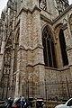 Rouen - Rue des Bonnetiers - View NW on la Cathédrale Notre-Dame.jpg