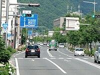 Route 406 in Nagano City.JPG
