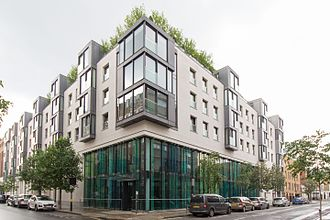 Royal National Orthopaedic Hospital - The hospital's central London site, on Bolsover Street in the City of Westminster. June 2016