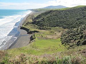 Ruapuke - Ruapuke Beach from above Waiau Beach