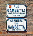 Rue Gambetta (Toulouse) Plaques.jpg
