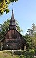 Ruhnu Püha Magdaleena kirik, Ruhnu puukirik 16.jpg