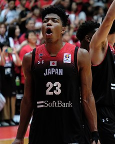 Rui Hachimura with Japan (2018).jpg