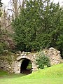 Ruined wall and arch, Chillingham Castle - geograph.org.uk - 1283659.jpg