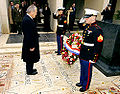 Rumsfeld at American Memorial in Tunisia.jpg