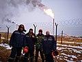 Russia. Oil and gas processing enterprise 2018 Yakutia (Россия. Нефтегазоперерабатывающее предприятие. Якутия).jpg