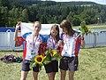 Russia Relay silver medal WOC 2008 -1.JPG