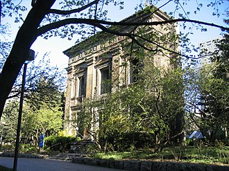Kerr Hall - Facade of Toronto Normal School serves as entrance to Ryerson University's Recreation and Athletics Centre