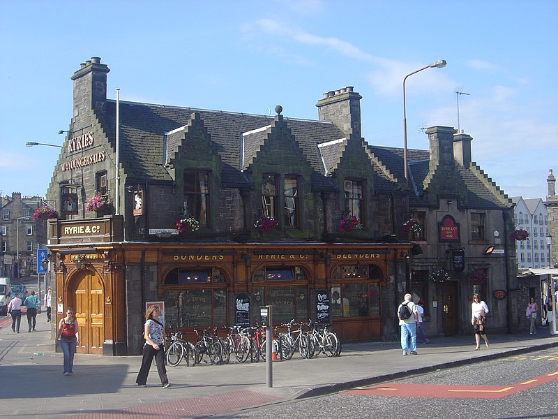 File:Ryries Bar, Edinburgh Haymarket pub dsc06376.jpg