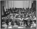 S.R.O. sign out as Monopoly Committee opens hearings. Washington, D.C., Dec. 1. Standing room only was the order today as the Temporary Economic Committee, Joint Legislative-Executive Body LCCN2016874466.jpg