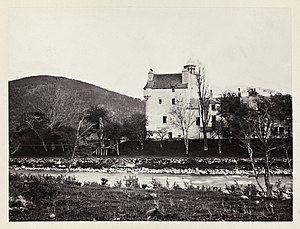 Abergeldie Castle - The castle in 1869