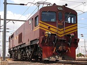 South African Class 7E2, Series 2 - No. E7215 at Pyramid South, Pretoria, 6 October 2009