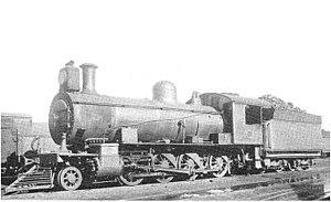 South African Class 8X 2-8-0 - Ex CGR 8th Class no. 356 SAR Class 8X no. 894