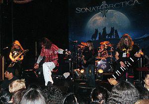 Sonata Arctica - Sonata Arctica performing at the Galaxy Theatre in September 2007