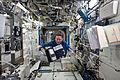 STS-134 Roberto Vittori floats through the Destiny lab.jpg