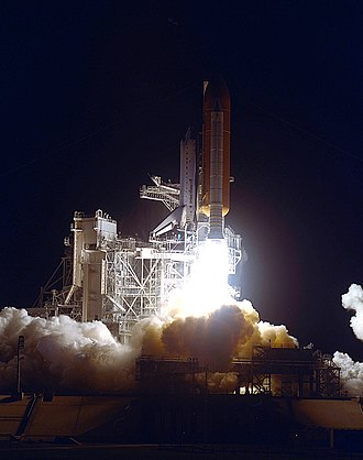 Vance D. Brand - Vance heads into orbit aboard the Space Shuttle, 1990