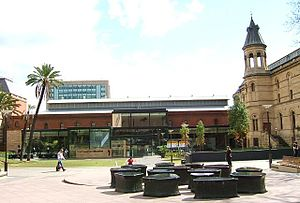 South Australian Museum - The South Australian Museum situated on Adelaide's cultural boulevard, North Terrace