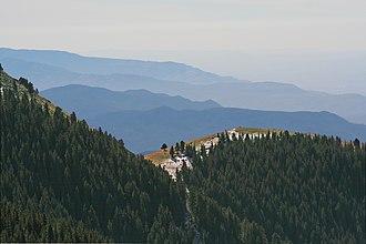 Sacramento Mountains (New Mexico) - Image: Sacramento Mountains, New Mexico, United States