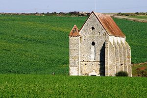 Trials of the Knights Templar - Templar building at Saint Martin des Champs, France
