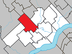 Location within Les Chenaux RCM.