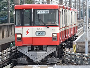New Shuttle - Image: Saitama New Urban Transit Type 1050
