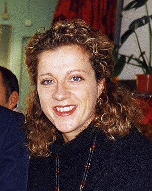 Sally Gunnell - Gunnell in 1995