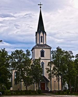 Saltstraumen kyrkje 2011